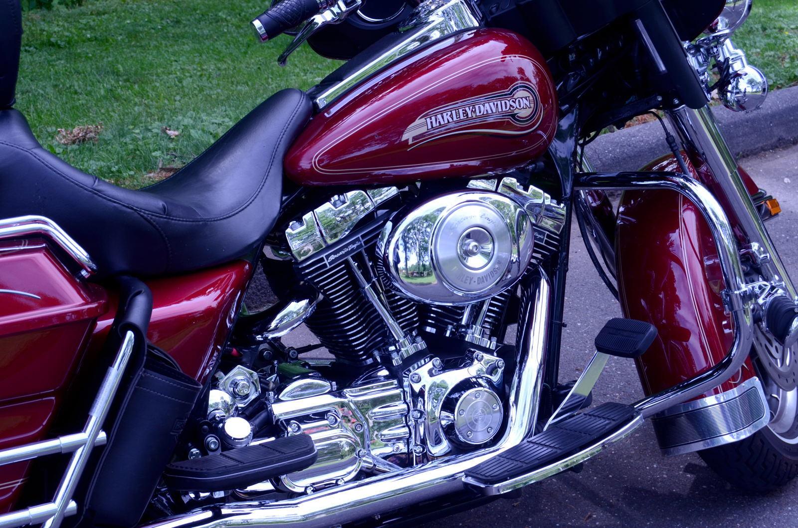 ハーレーダビッドソンのバイク